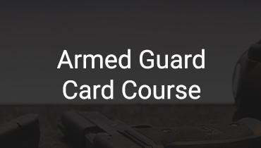 <span>Guard Card</span> Armed Guard